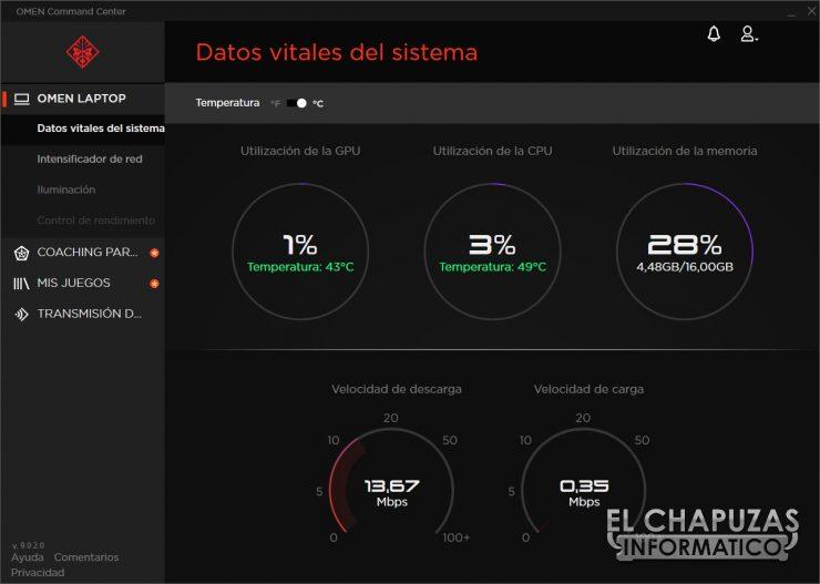 HP Omen 15-dh0001ns - Software 1