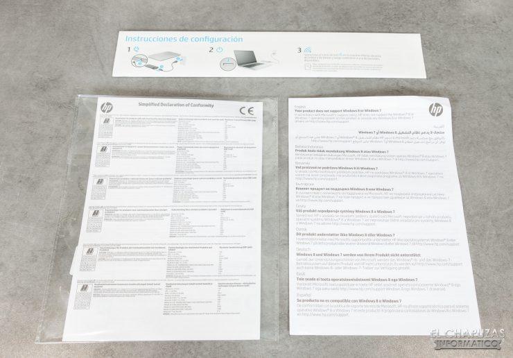 HP Pavilion 15-dk0010ns - Documentación