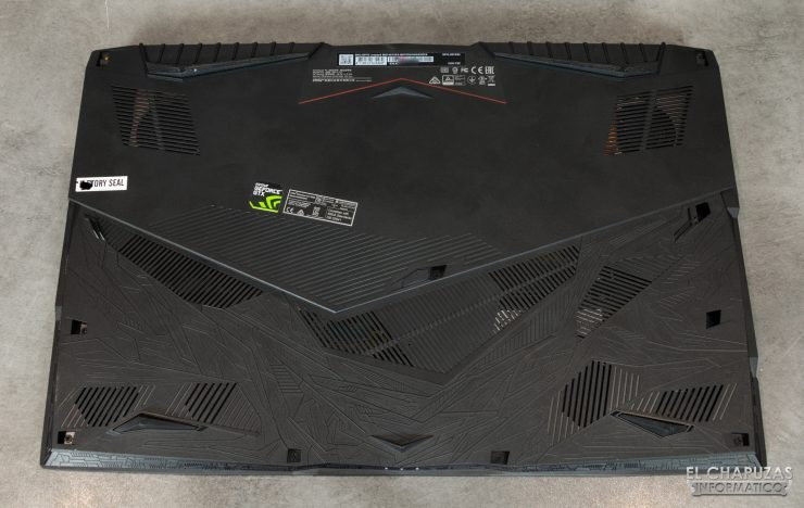 MSI GP75 Leopard 9SD - Base