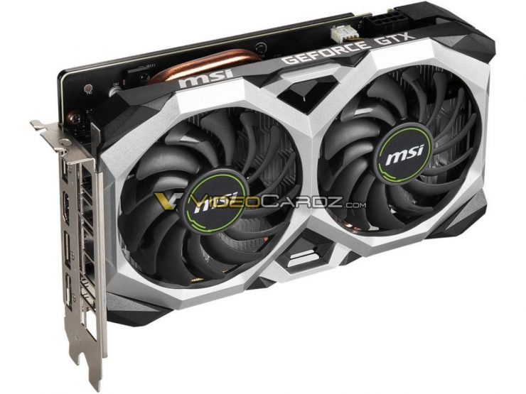 MSI GeForce GTX 1660 SUPER Ventus XS