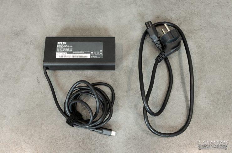 MSI Prestige 15 - Transformador USB-C
