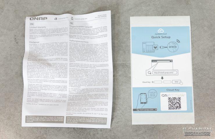 QNAP HS-453DX - Documentación