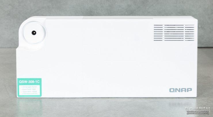 QNAP QSW-308 - Vista superior
