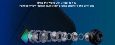 El Realme X2 Pro también tendrá cuádruple cámara trasera con un zoom híbrido de 20x aumentos