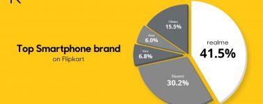 Realme supera a Xiaomi en la India, 1 millón de móviles vendidos en 1 día