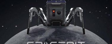 El primer rover de Reino Unido es una araña robótica capaz de saltar