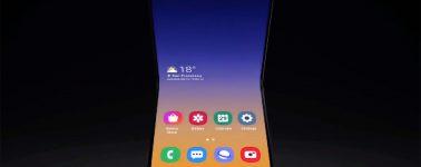 Samsung muestra un nuevo concepto de smartphone plegable