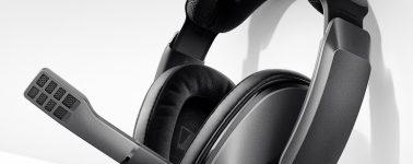 Sennheiser GSP370: Auriculares gaming inalámbricos con una autonomía de hasta 100 horas