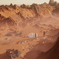 Descarga gratis el Surviving Mars desde la Epic Games Store & Metro 2033 desde Steam