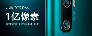 El Xiaomi Mi CC9 Pro llegaría el 5 de Noviembre con 5 cámaras en la parte trasera