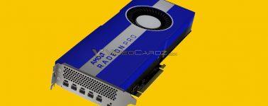 AMD Radeon Pro W5700: 2304 Stream Processors @ 1.93 GHz bajo una litografía de 7nm
