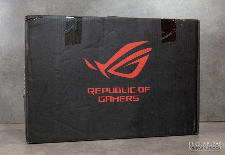 Asus ROG Zephyrus S GX502GW - Embalaje exterior