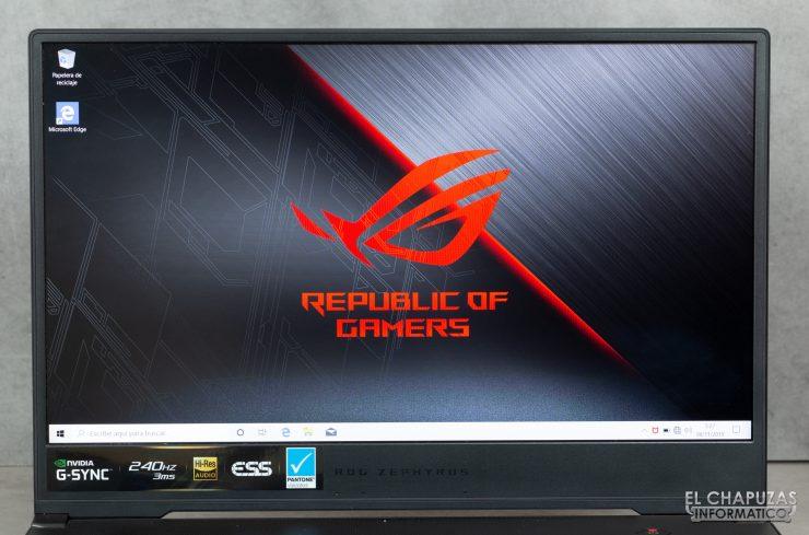 Asus ROG Zephyrus S GX502GW - Pantalla FHD 240 Hz
