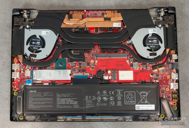 Asus ROG Zephyrus S GX502GW - Interior