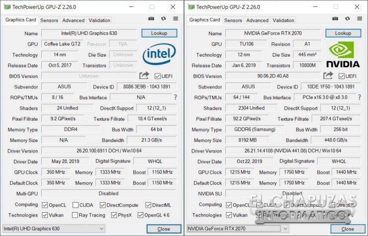 Asus ROG Zephyrus S GX502GW - GPU-Z