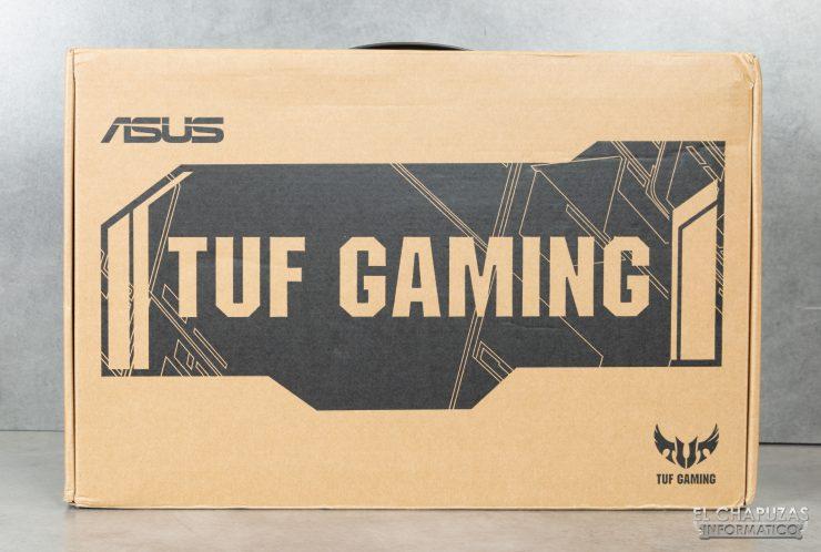 Asus TUF Gaming FX505DD - Embalaje exterior
