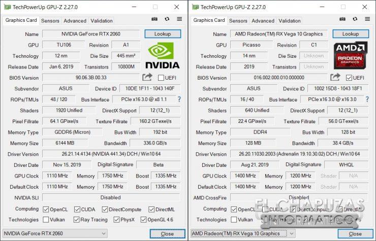 Asus TUF Gaming FX505DD - GPU-Z