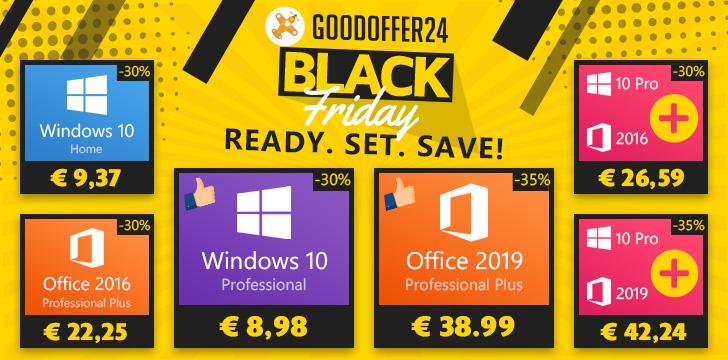 Black Friday en Goodoffer24
