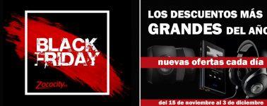 Llega el Black Friday a Zococity: Altavoces para el salón/PC, barras de sonido, auriculares y más