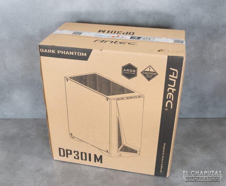 CoolPC Black IV - Embalaje exterior 2