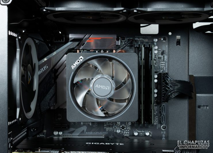 CoolPC Black VIII - Interior 4