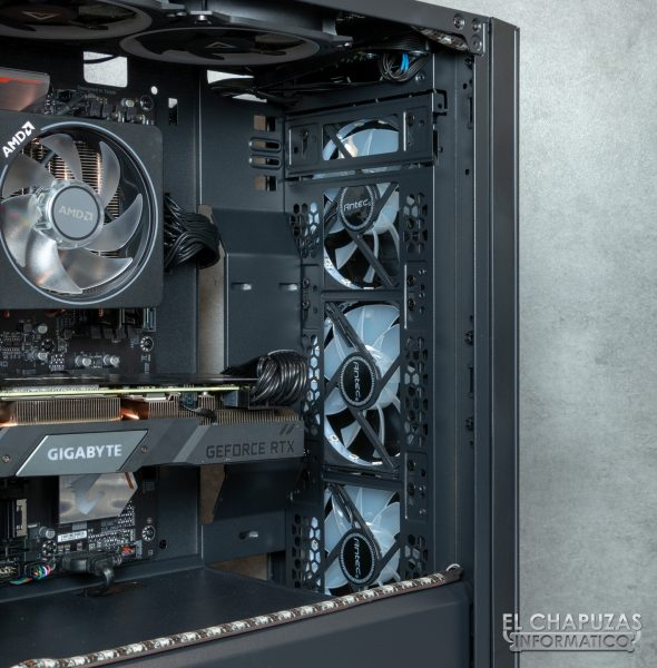 CoolPC Black VIII - Interior 6