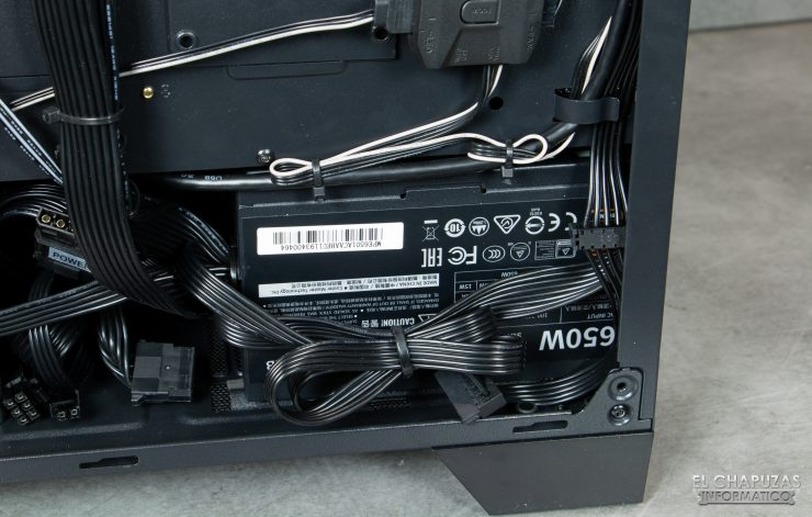 CoolPC Black VIII - Interior 8