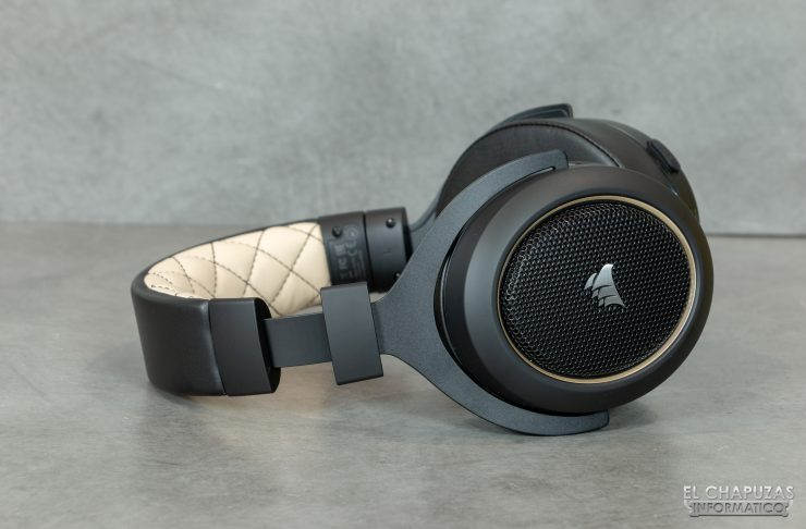 Corsair HS70 Pro Wireless - Cupula derecha expandida