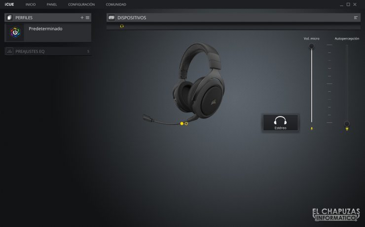 Corsair HS70 Pro Wireless - Software 1