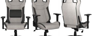 Corsair T3 RUSH: La primera silla gaming de la compañía fabricada con material transpirable