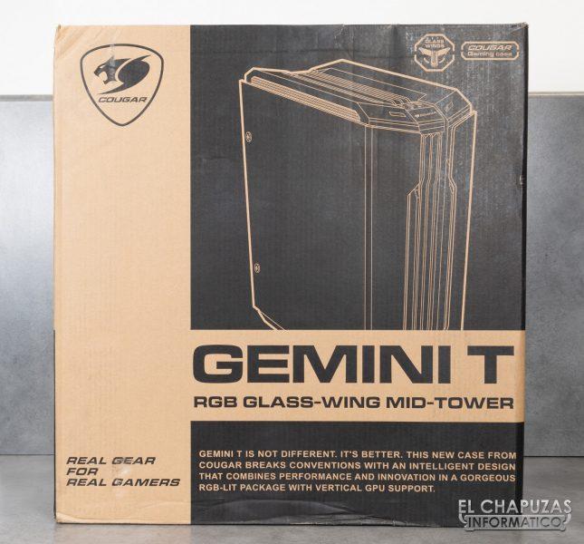 Cougar Gemini T - Embalaje frontal