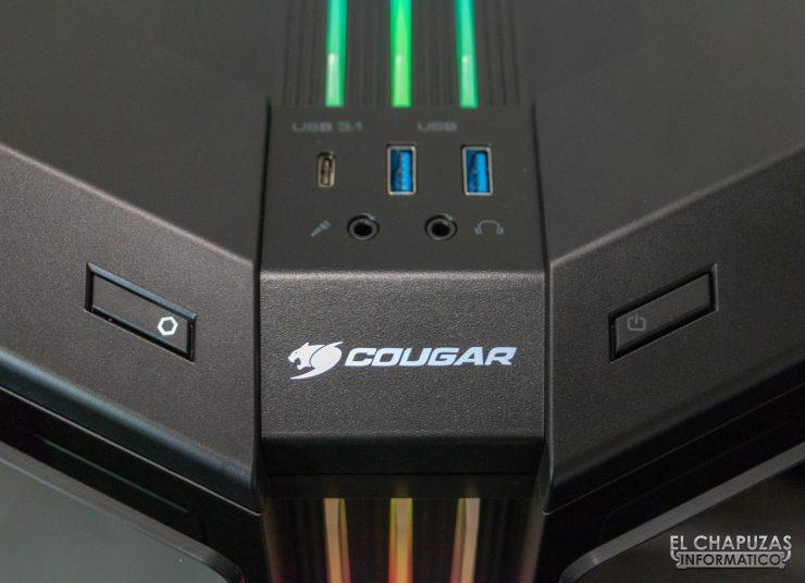 Cougar Gemini T - Conectores