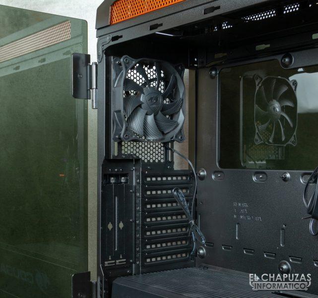 Cougar Gemini T - Lado trasero interior