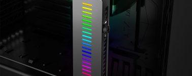 DeepCool GH-01: Un soporte para GPUs que además de alimentarla añade algo de RGB