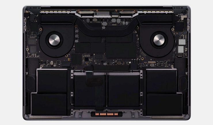Disipación MacBook Pro de 16 pulgdas 740x436 0