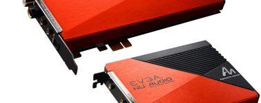EVGA NU Audio Pro, doble tarjeta de sonido 7.1 con condensadores Azure Dragon