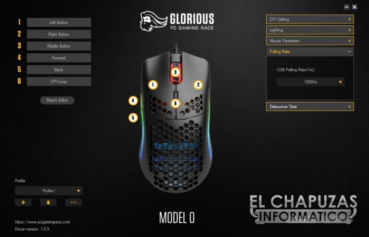Glorious PC Gaming Race Model O - Software 4