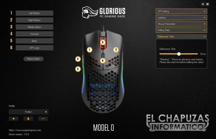 Glorious PC Gaming Race Model O - Software 5
