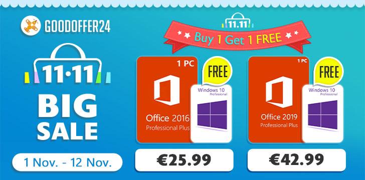 Goodoffer24 office windows gratis 0