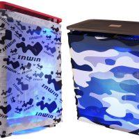 InWin Alice: Chasis de plástico recubierto de una tela muy colorida