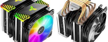 Jonsbo CR-2000, un colorido disipador CPU por aire tope de gama