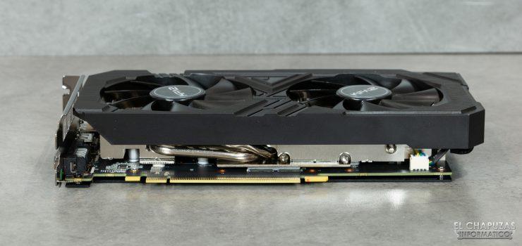 KFA2 GeForce GTX 1660 SUPER EX - Vista lateral PCIe