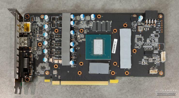 KFA2 GeForce GTX 1660 SUPER EX - PCB frontal