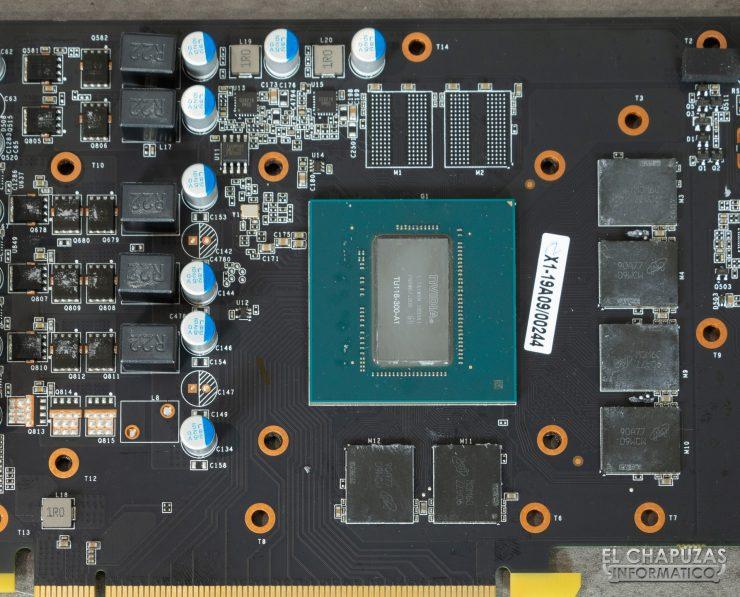 KFA2 GeForce GTX 1660 SUPER EX - Núcleo, memorias y VRM