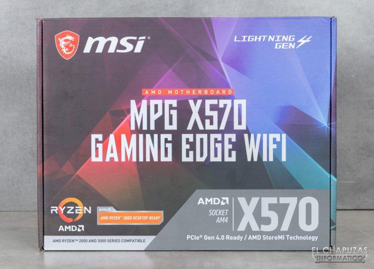 MSI MPG X570 Gaming Edge Wi-Fi - Embalaje 1