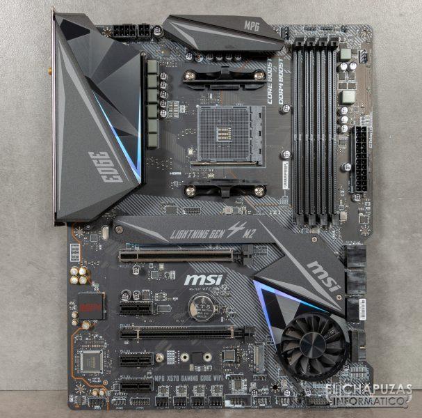 MSI MPG X570 Gaming Edge Wi-Fi - Vista frontal