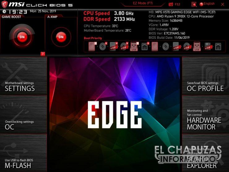 MSI MPG X570 Gaming Edge Wi-Fi - BIOS 2