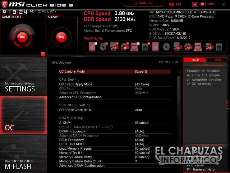 MSI MPG X570 Gaming Edge Wi-Fi - BIOS 4