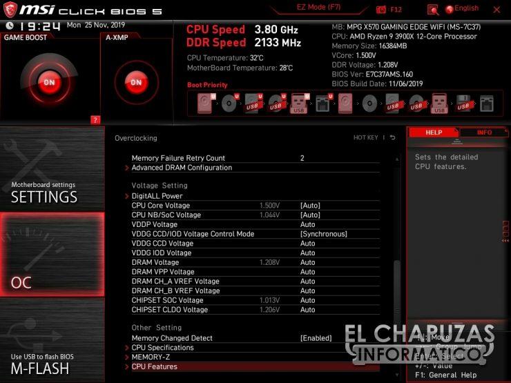 MSI MPG X570 Gaming Edge Wi-Fi - BIOS 5