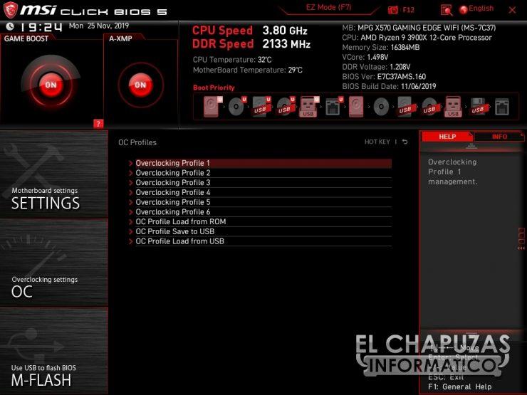 MSI MPG X570 Gaming Edge Wi-Fi - BIOS 6